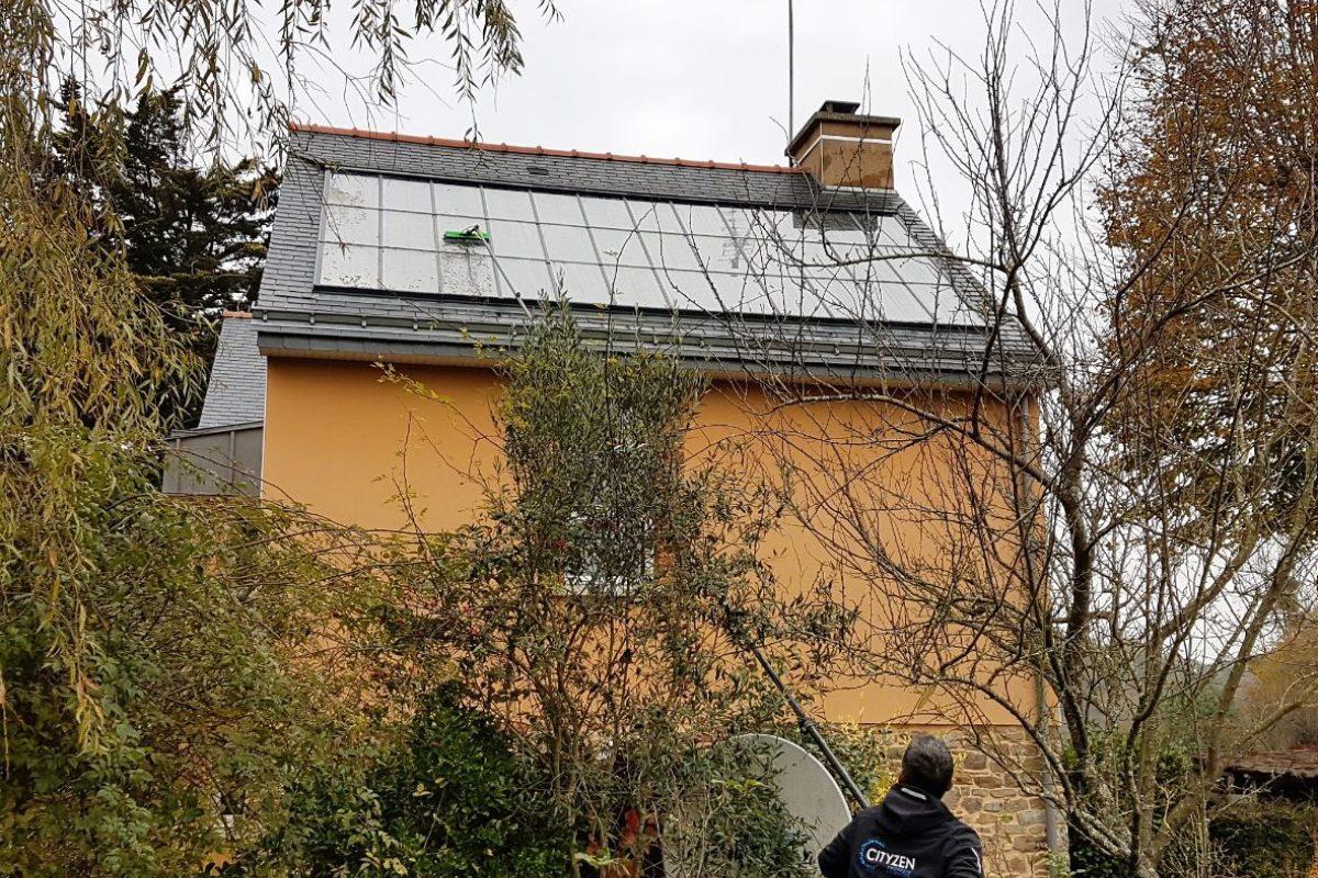 Nettoyage De Panneaux Solaires Et Photovoltaiques Rennes Bretagne France